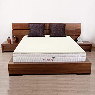 Red Nomad - King Size 3 Inch Thick, Ultra Premium Visco Elastic Memory Foam Mattress Pad Bed Topper - Made in The USA