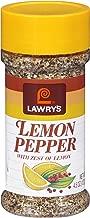Lawry's Lemon Pepper Blend, 4.5 oz