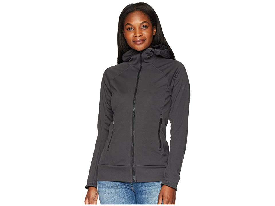 adidas Outdoor Stretch Softshell Jacket (Carbon) Women