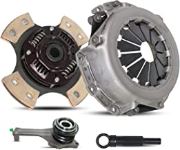 Clutch Kit Works With Mitsubishi Lancer Es Ls Oz Rally Sedan 4-Door 2002-2003 2.0L L4 GAS SOHC Naturally Aspirated (2.0L All Models; 4-Puck Clutch Disc Stage 2)