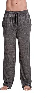 CYZ Men's 100% Cotton Jersey Knit Pajama Pants/Lounge Pants