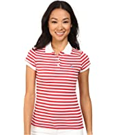 U.S. POLO ASSN. - Tonal Stripe Slub V-Neck T-Shirt