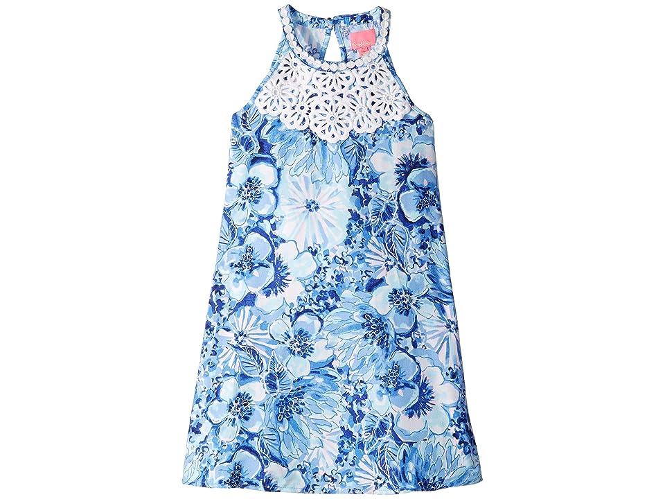 Lilly Pulitzer Kids Mini Pearl Shift (Toddler/Little Kids/Big Kids) (Coastal Blue Catch N Keep Small) Girl