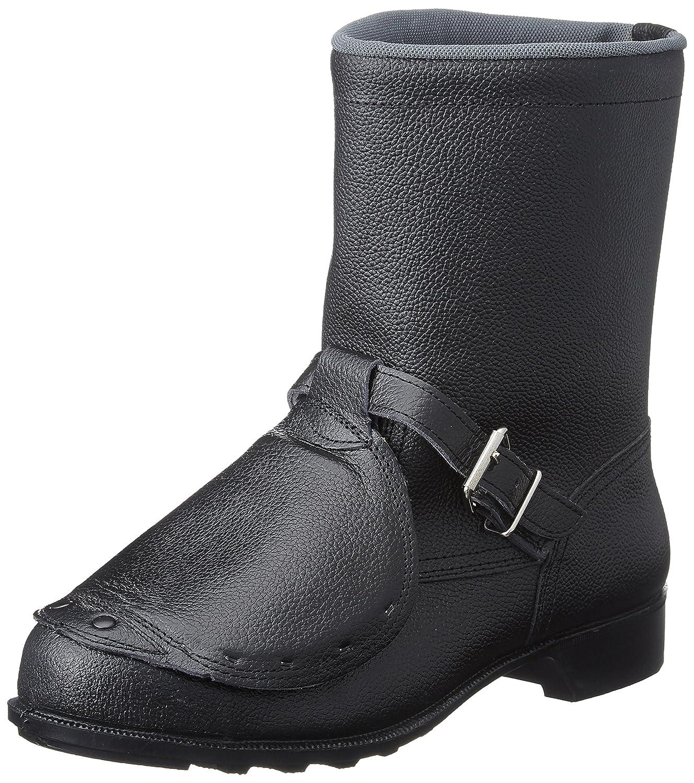 [ドンケル] 安全靴 甲プロテクター付き 半長靴タイプ JIS?T8101革製S種M合格(V式) 甲プロ付き安全靴 半長靴 メンズ