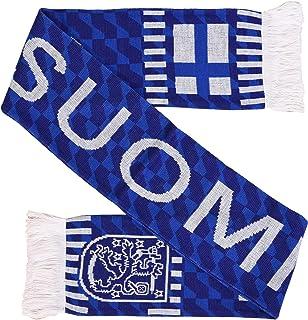 Suomi Finland Soccer Knit Scarf