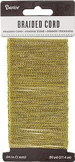 Darice Gold Braided Cording