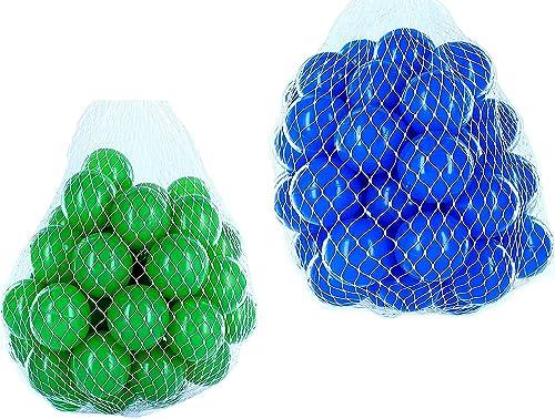 el mas de moda Pelotas Pelotas Pelotas para pelotas baño variadas Mix con verde y azul Talla 1000 Stück  al precio mas bajo
