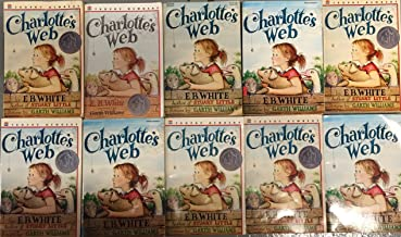 Charlotte's Web by E.B. White Class Reading Group Set of 10 Copies