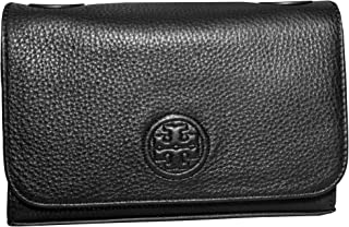 Tory Burch Bombe Shrunken Shoulder Bag Small Women's Handbag (Black)