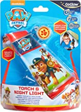 Homewares Paw Patrol Kids Tilt Torch and Bedside Night Light by GoGlow Night Light and Torch