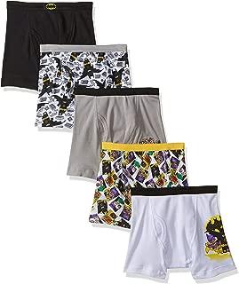 LEGO Boys' 5-Pack Movie Boxer Brief Underwear