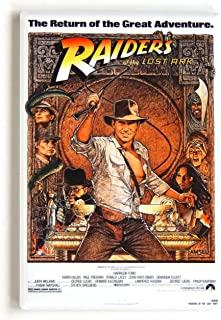 Raiders of the Lost Ark Movie Poster Fridge Magnet (2 x 3 inches)
