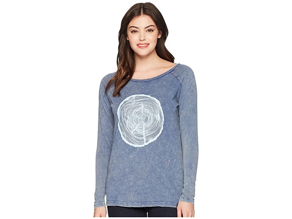 tentree Future Villa T-Shirt (True Navy Mineral) Women