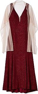 Xscape Women's Size Glitter Knit Plus Dress