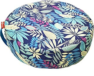 Aozora Zafu Meditation Cushion Yoga Inflatable Cotton Bolster Pillow Cushion Lightweight Non-Slip Premium Designs