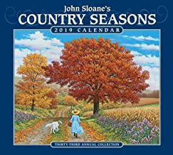 John Sloane's Country Seasons 2019 Deluxe Wall Calendar