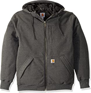 Carhartt Rockland Quilt-lined Full-zip Hooded Sweatshirt maglione Uomo