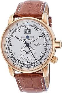 [ツェッペリン]ZEPPELIN 腕時計 100周年 シルバー文字盤 GMT機能 76405 メンズ 【並行輸入品】