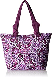 Hadley East West Tote, Signature Cotton