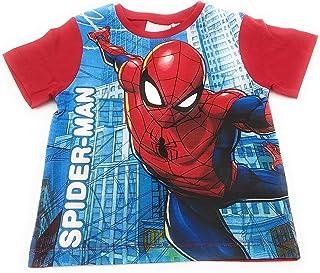 5078B Marvel Completo Bambino//Ragazzo Mezza Manica Corto in Cotone Spiderman Art