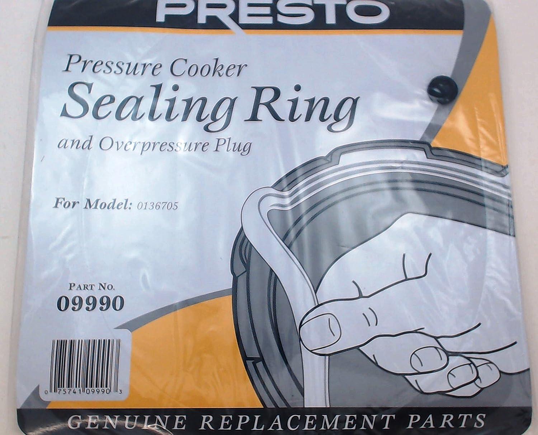 Presto OFFicial shop Albuquerque Mall Pressure Cooker Sealing Ring Plug Overpressure