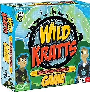 Pressman Wild Kratts Race Around The World Board Game