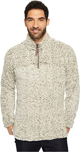True Grit - Frosty Tipped Pile 1/4 Zip Pullover