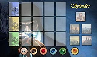 Splendor Gaming Board Game Playmat 24 x 14 inch