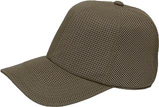 [ろしなんて工房] 帽子 深いキャップ SP120 エアメッシュ519 大きいサイズOK [日本製]