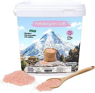 Nortembio Sal Rosa del Himalaya 6,7 Kg. Extrafina (0,5-1 mm