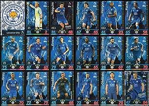 MATCH ATTAX 2018/19 18/19 Leicester City Full 18 Card Team Set
