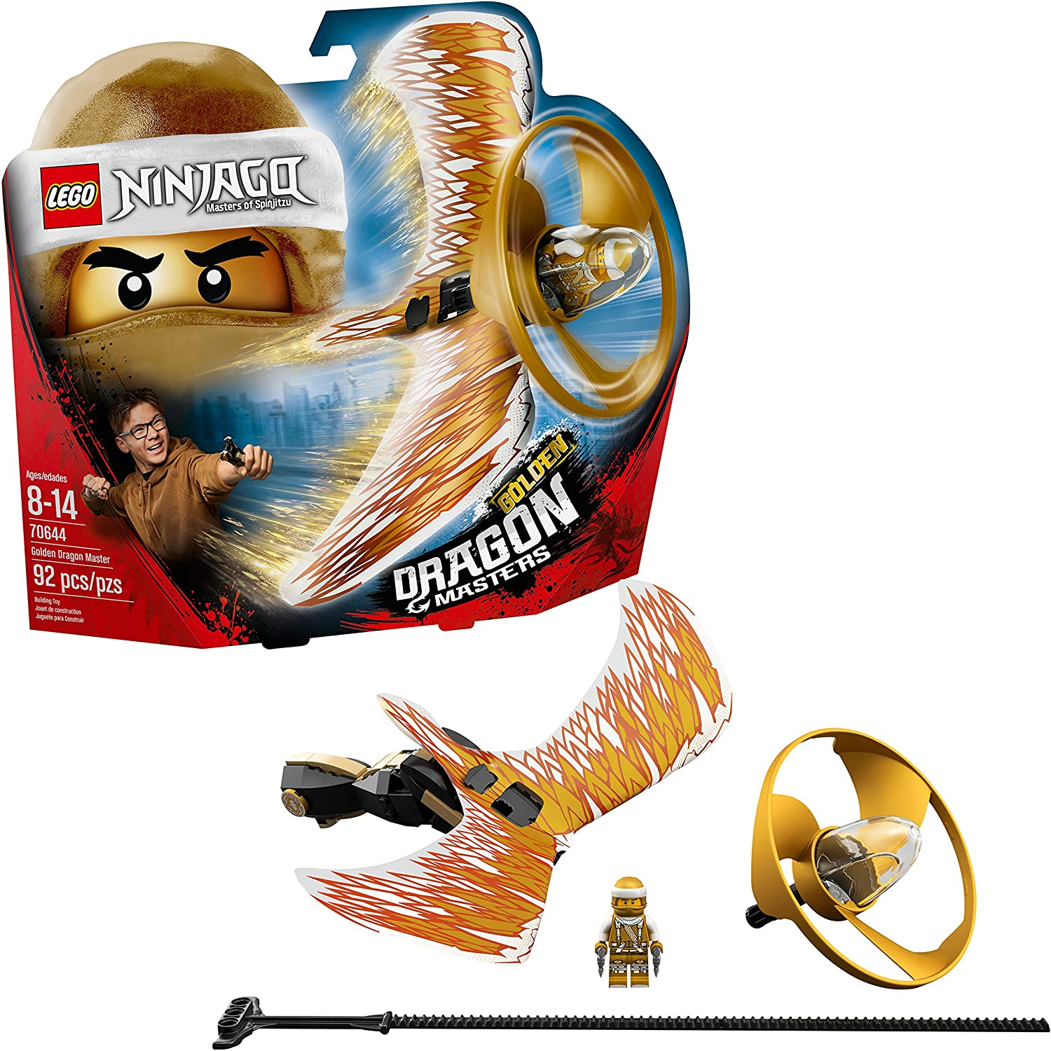 Ninjago toys golden dragon the lost golden staff of the dragon queen 38