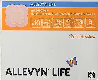 Smith & Nephew Foam Dressing Allevyn Life 6.06 X 6.06 Quadrilobe Sterile (#66801069, Sold Per Box)