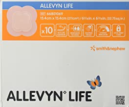 Allevyn Life Smith & Nephew Foam Dressing 6.06 X 6.06 Quadrilobe Sterile (#66801069, Sold Per Box)
