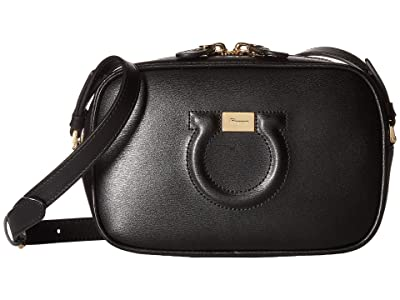 Salvatore Ferragamo City Crossbody (Nero) Cross Body Handbags