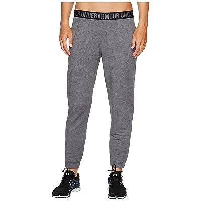 Under Armour Featherweight Fleece Pants (Carbon Heather/Graphite) Women