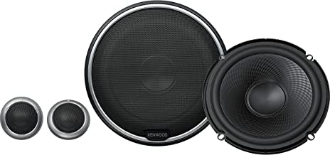 """Kenwood KFC-P710PS 560W Max (160W RMS) 6.5"""" Performance Series 2-Way Component Car Speakers"""
