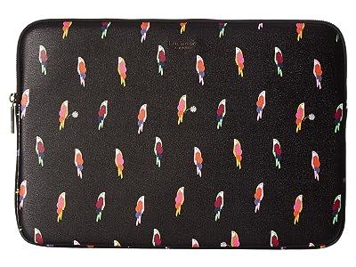 Kate Spade New York Flock Universal Laptop Sleeve (Black Multi) Wallet