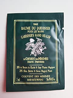 Le Couvent des Minimes Gardener's Hand Healer Cream Packettes ( Box of 24) - Made in France