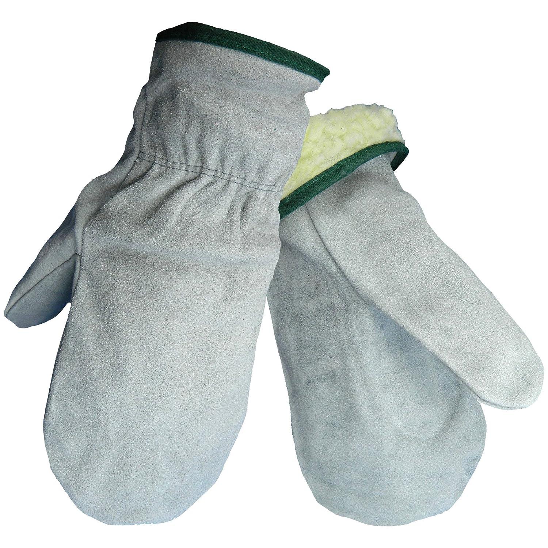 Global Glove 51MIT Split Cowhide Pile Medium Louisville-Jefferson County Mall Cas Lining Mitten Daily bargain sale