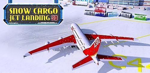『Snow Cargo Jet Landing 3D』の6枚目の画像