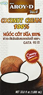 AROY-D 100% Pure Coconut Cream, 33.8 fl oz