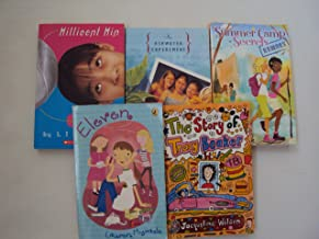 Grade 6 Book Set for Girls : The Story of Tracy Beaker - Summer Camp Secrets - Eleven - Millicent Min, Girl Genius - The A...
