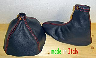 Alfa Romeo 159 cuffia leva cambio e freno in vera pelle