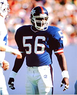 LAWRENCE TAYLOR NEW YORK GIANTS 8X10 SPORTS ACTION PHOTO (XLT)