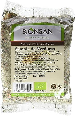 Bionsan Sémola de Verduras Ecológica - 6 Bolsas de 400 Gramos ...