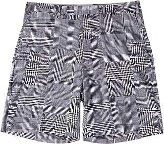 Ralph Lauren Men's Golf Biltmore Black/White Houndstooth Performance Casual Shorts