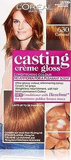 L'Oréal Paris Casting Crème Gloss Semi-Permanent  Hair Colour - 630 Caramel (Ammonia Free)