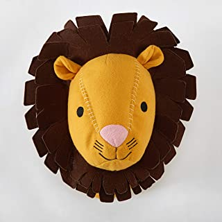 Lion Stuffed Animal Wall Mount
