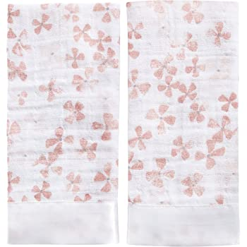 aden + anais issie security blankets 100% cotton muslin birdsong 2-pack
